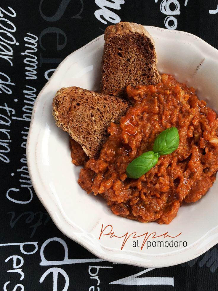 pappa al pomodoro * Tomato and bread soup #vegan #tomato #tuscany