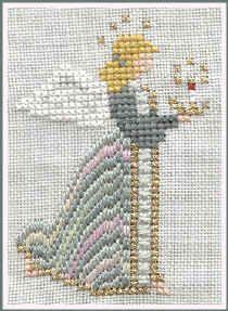 Celeste Angel - Cross Stitch Pattern