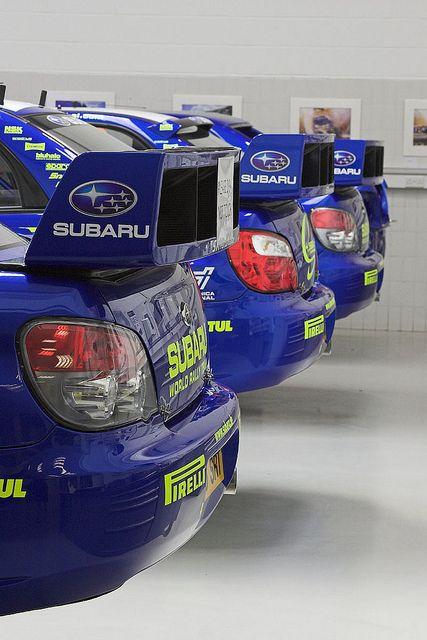 Subaru Impreza WRC Rally