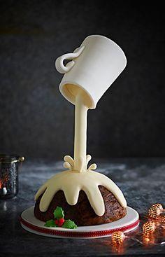 27 best gravity cake images on pinterest gravity defying - Gravity cake noel ...