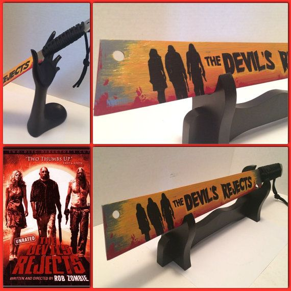 The Devils rejects custom painted Machete by MiseryLovesCo510