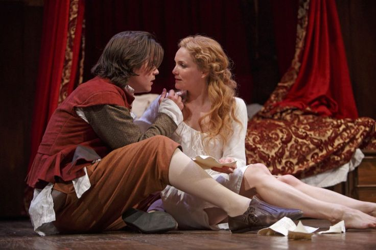 Luke Humphrey as Will Shakespeare and Shannon Taylor as Viola de Lesseps are youthful and gorgeous, and genuinely seem to fancy the knickers off each other in Shakespeare in Love.