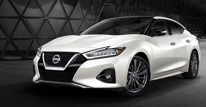 The 2019 Nissan Maxima A 4 Door Sports Car Put Maximas Drive Mode Selector In Sport And Its Like Kicking In The Afterburn Nissan Maxima Nissan New Nissan