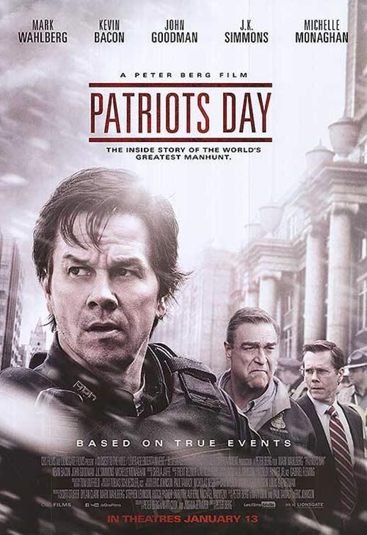 "Movie Review: ""Patriots Day"" -- It could have been great, but.... -"