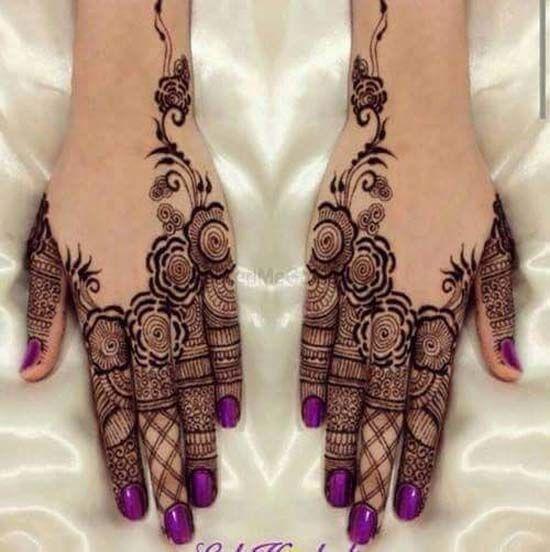 Wedding Henna Design 2018