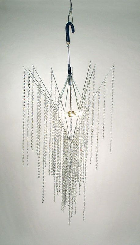 umbrella chandelier