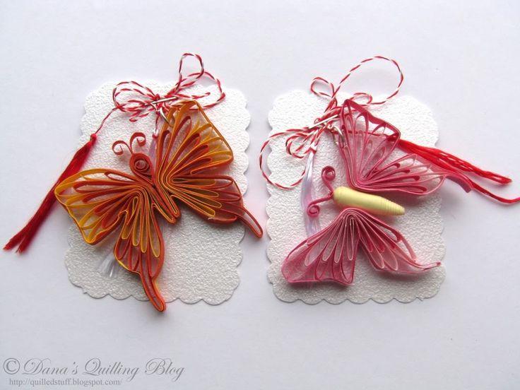 quilling | Etichete: 1 martie , flori quilling , fluture , martisor