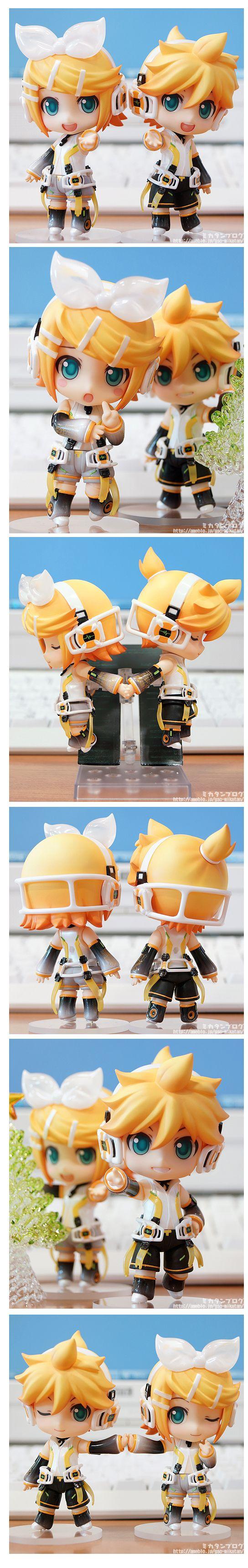 Nendoroid Kagamine Rin & Len: Append Preview