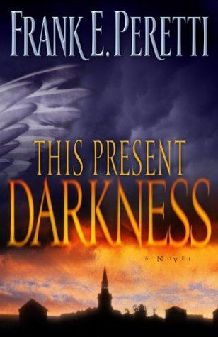 This Present Darkness - Frank E.Peretti. Ashton is just a typical small town. But when a skeptical reporter and a prayerful, hardworking pastor begin to investigate mysterious events, they suddenly find themselves caught up in a hideous New Age plot to enslave the townspeople, and eventually the entire human race. The physical world meets the spiritual realm as the battle rages between forces of good and evil.