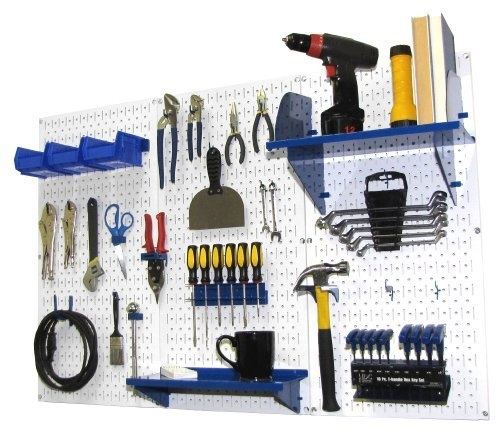 Wall Control Metal Pegboard Makes Great Shadow Board For: 17 Best Images About Garage On Pinterest