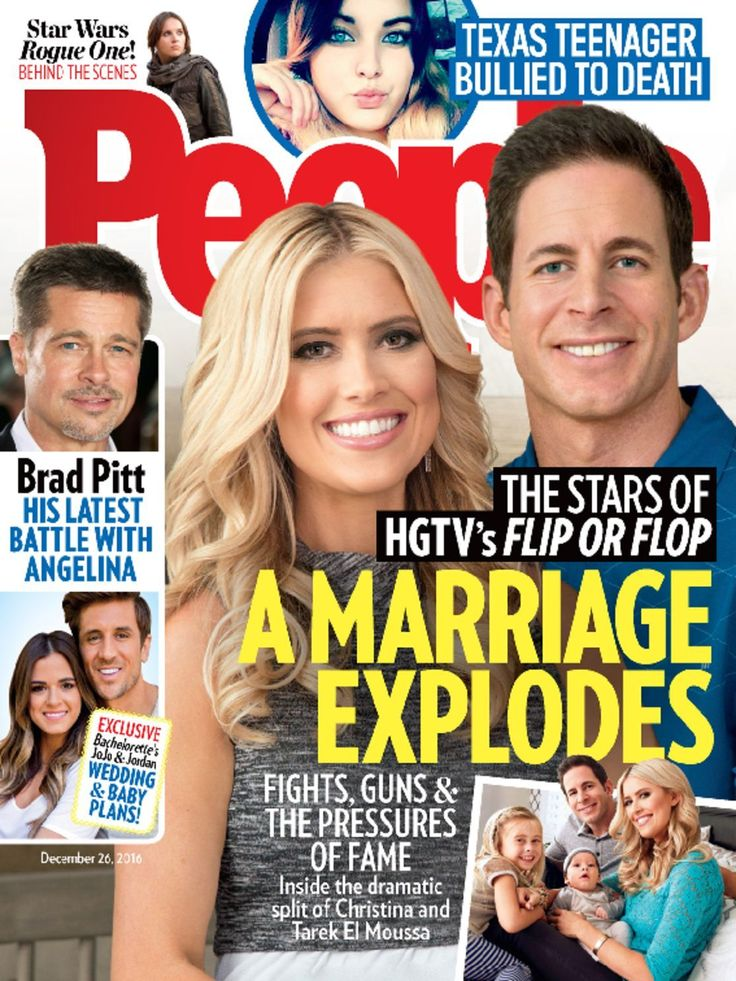 2218 best images about people magazine covers on pinterest for Tarek christina el moussa