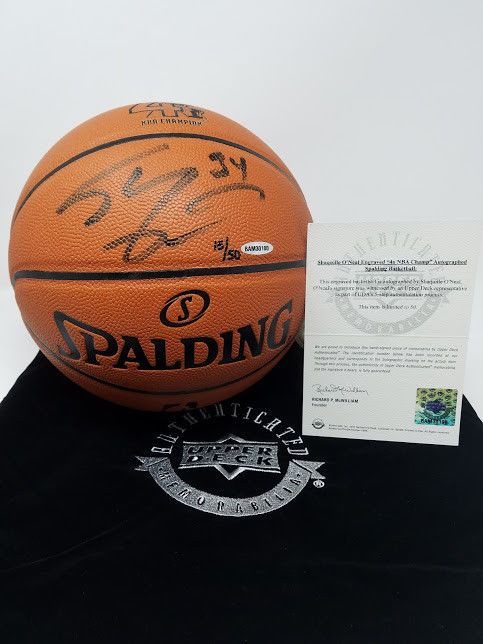 SHAQUILLE O NEAL  SHAQ  Hand Signed