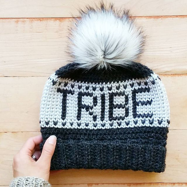 7569f523 Ravelry: Crochet Tribe Beanie pattern by Justyna Srock #crochet  #crochetpattern #ravelry