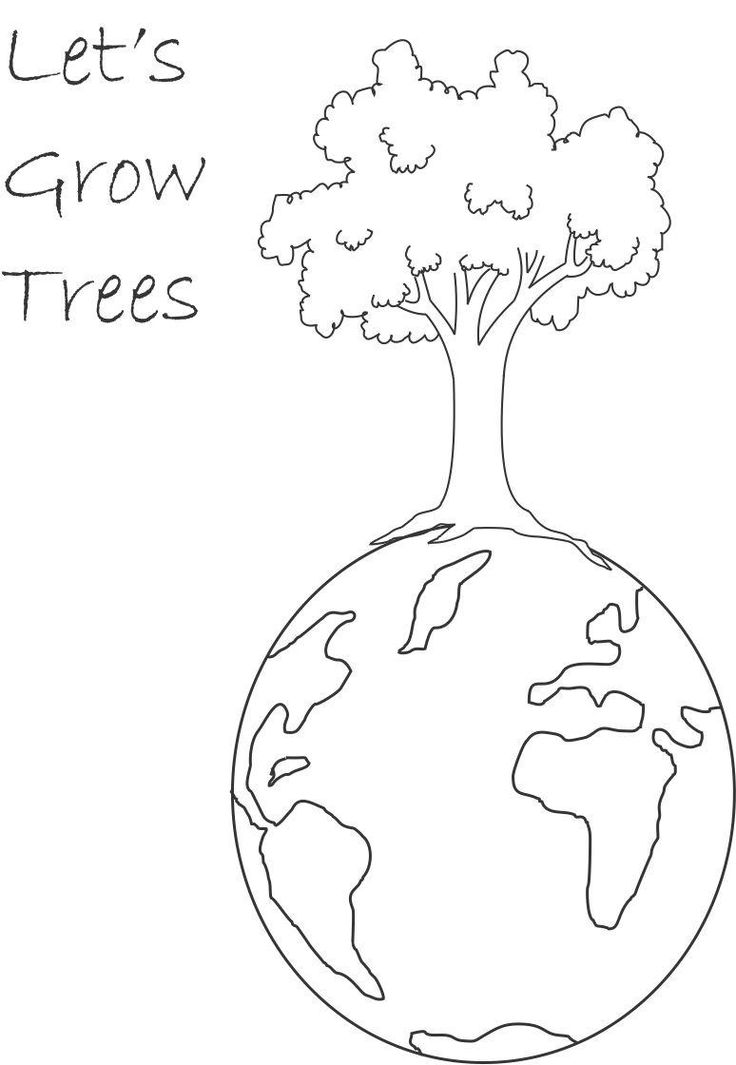 Gallery Of Growing And Planting Coloring Page Google Search With Layers The Earth