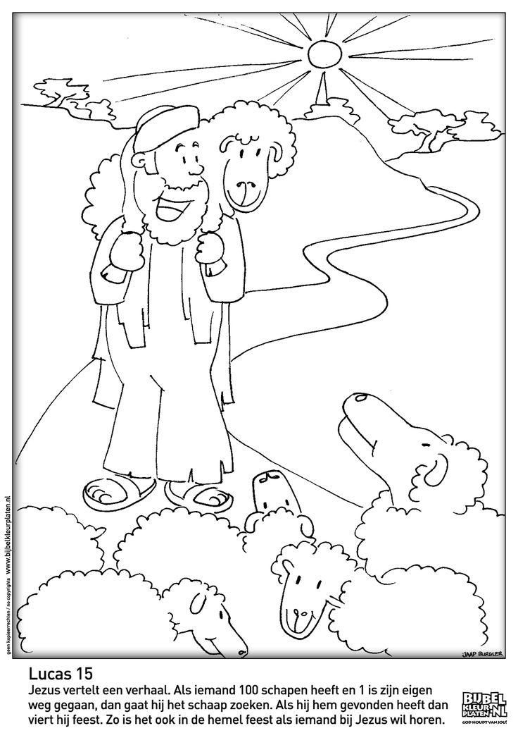 Lucas 15: Het verloren schaap