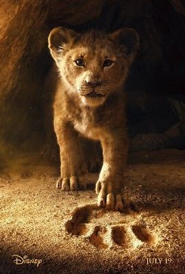 "Details about The Lion King Movie Poster Donald Glover Jon Favreau 24×36 Movie Poster ""27×40"" – show original title"