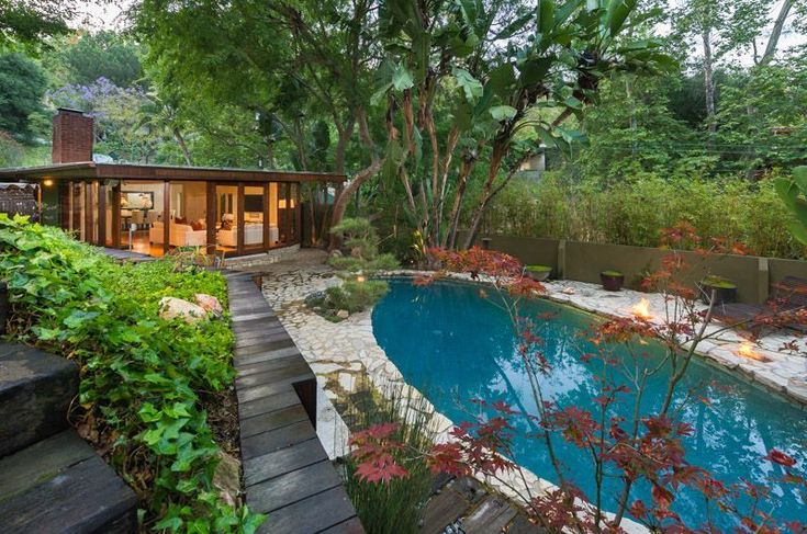 Anna Faris Lists Her Midcentury Abode in the Hollywood Hills For $2.5M - Dwell