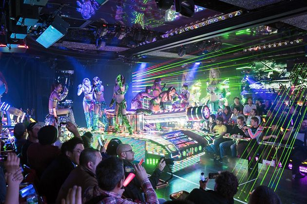 Robot Restaurant, A Mindboggling Club in Tokyo That Features a Bizarre Sci-Fi Cabaret Show