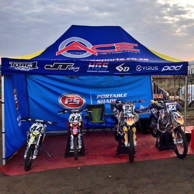 Well done to all the riders that competed at Round 4 of @mxnationals_sa in Durban. To our team, you did us proud! Well done @anthonyraynard and @ike_klaassen44  We look forward to the next national in JHB on 25 July. #AceSportsSA