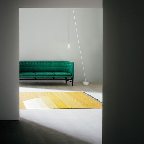 Another Rug - Yellow Amber