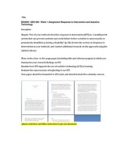 """Chapter Two of your textbook describes response to intervention (RTI) as """"a multilayered system that can prevent academic and social failure before a student is unnecessarily or prematurely identified as having a disability"""" (p.28). Review the… (More)"""
