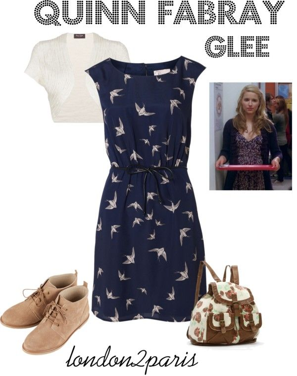 """Quinn Fabray - Glee"" by london2paris on Polyvore"