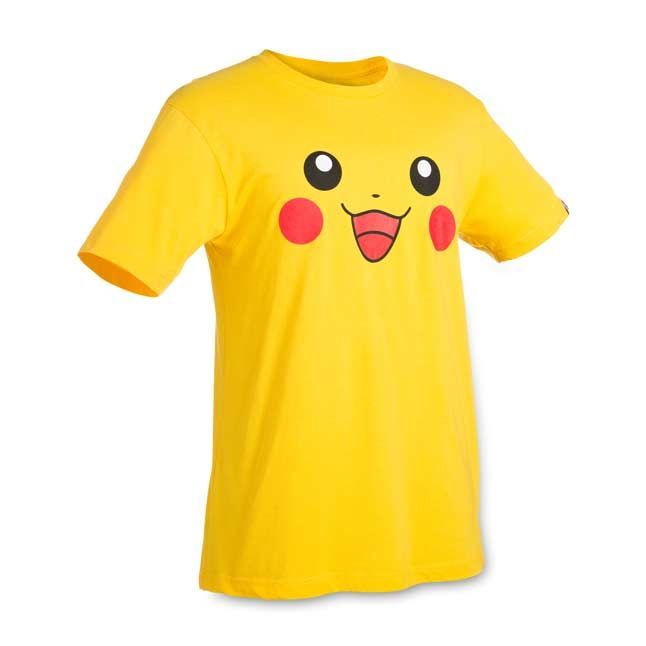 Official Pikachu Big Face relaxed fit crewneck T-shirt, showing Pikachu's…