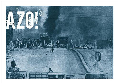 El Cordobazo como marca histórica bautizó las luchas populares. A partir de la rebelión cordobesa explotaron el Rosariazo, Tucumanazo, Viborazo y Mendozazo.   Alejandro Barbeito ®