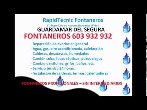 Fontaneros Guardamar del Segura 603 932 932
