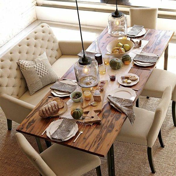13 best Diningroom Design images on Pinterest Benches, Banquette