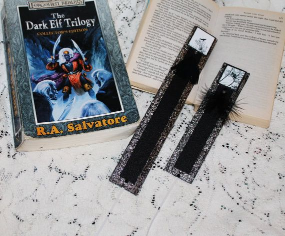 Murder of Crows Bookmark..Personal photo by TFAS on Etsy
