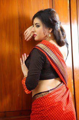 6526656db7f6a4 Archana Veda Hot In Backless Saree Blouse Photos South Indian Actress. Archana  Veda Hot In Backless Saree Blouse Photos South Indian Actress Archana