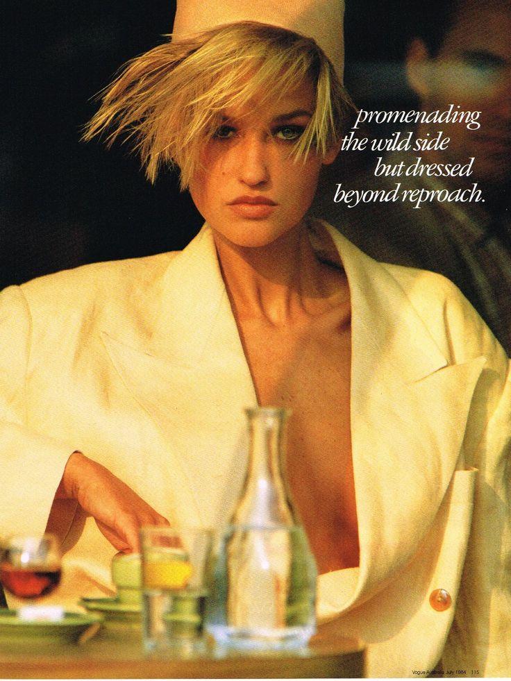 Michelle Eabry - Vogue Australia 1984