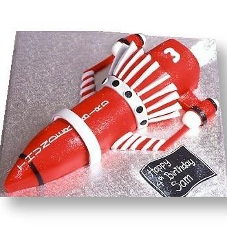 Thunderbird 3 Cake