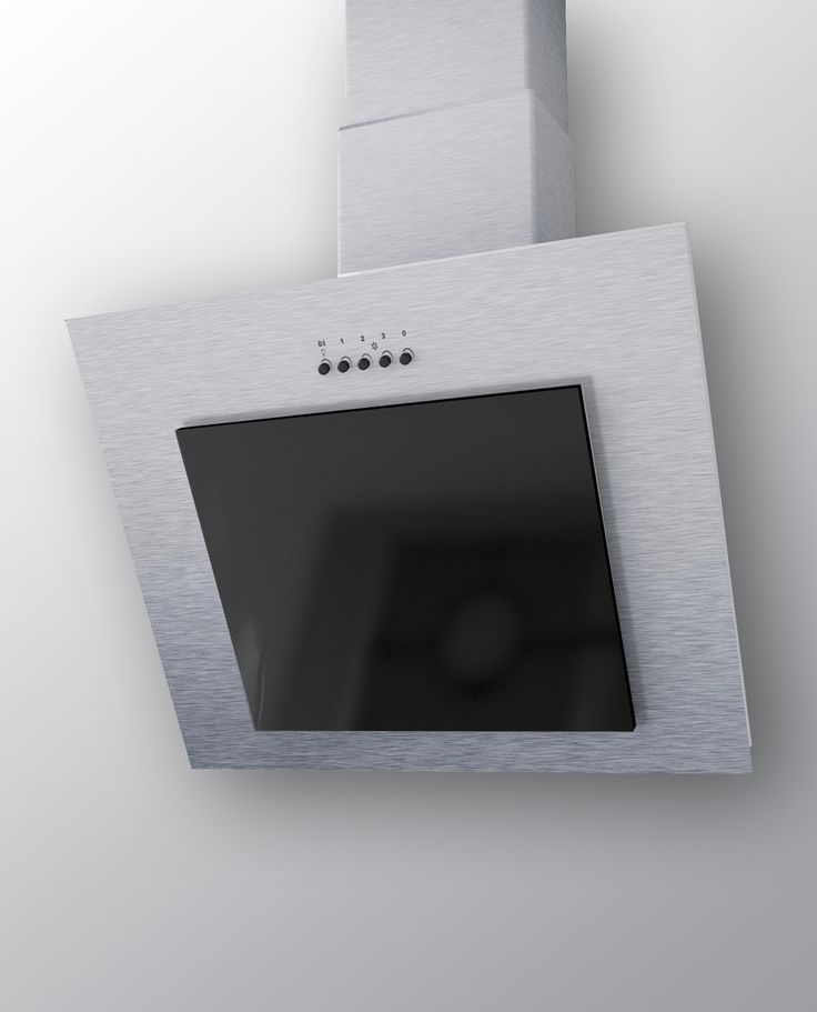 Наклонная кухонная вытяжка Mini 600 Inox