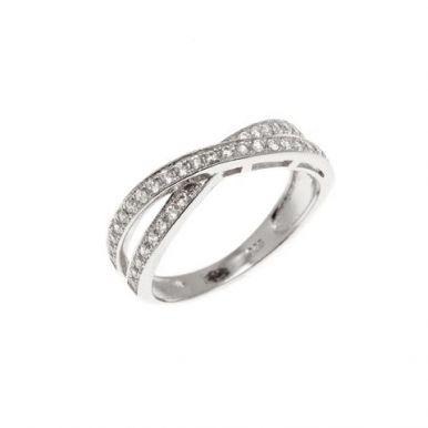 Кольцо дорожка серебряное купить