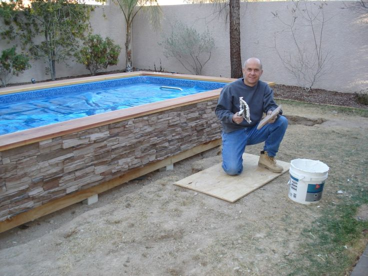 Best 25 homemade swimming pools ideas on pinterest - How to make a homemade swimming pool ...