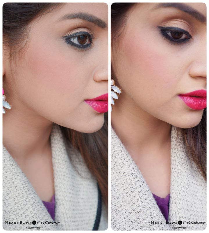 The perfect rosy blush by NYX! http://www.heartbowsmakeup.com/nyx-powder-blush-desert-rose-review-swatches-price-india/