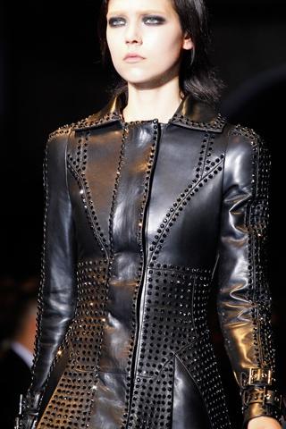 Versace fall2012Fashion, Fall2012 Leatherandsued, Lovin Leather, Rockn Leather, Fall 2012, Leather Work, Versace Leather, Versace Aw, Versace Fall2012