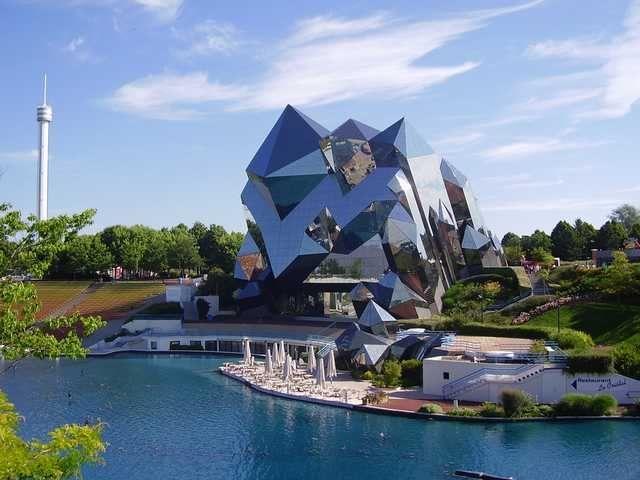 Edificios. Futuroscopio (Poitiers, Francia)