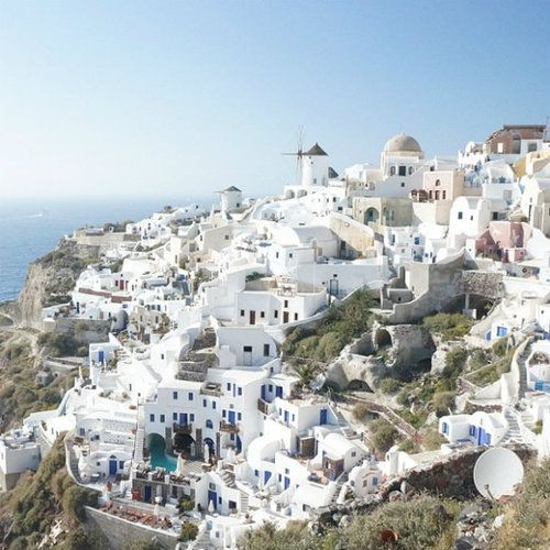 Greece ♥Buckets Lists, Santorini Greece, Travel Places, Southern Charms, Vacations Spots, Plum Pretty, Pretty Sugar, Places I D, Colors Greece