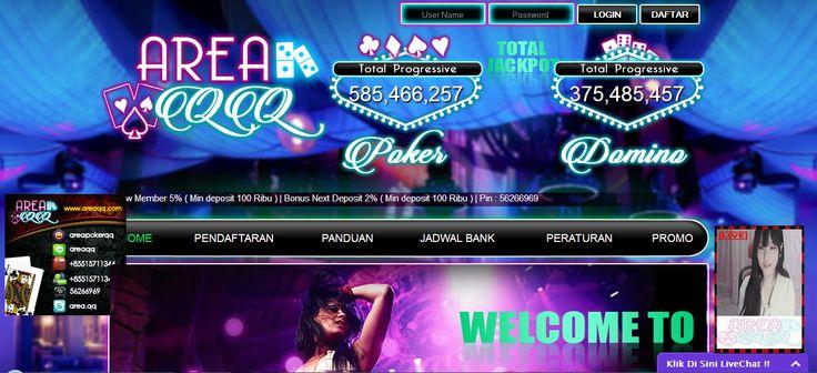 AREAQQ – Agen Poker Online, DominoQQ Terpercaya