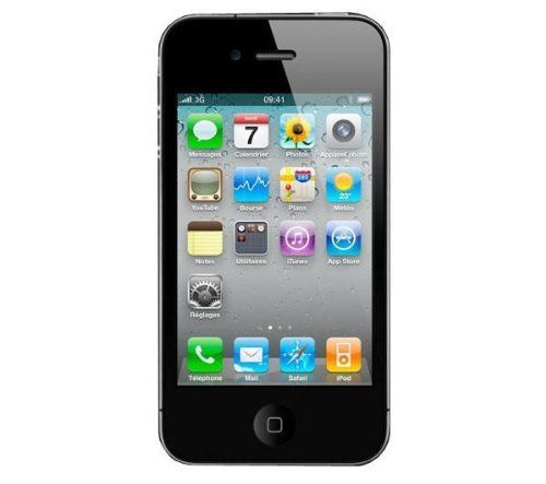 awesome Apple iPhone 4 16GB Black