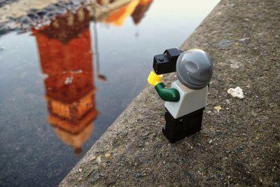 Le Lego globetrotter et photographe par Andrew Whyte