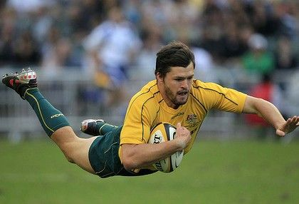 Adam Ashley-Cooper, Qantas Wallabies, Australian Rugby