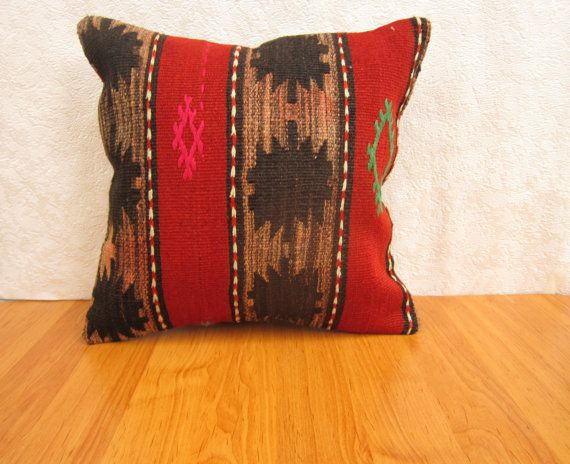 Check out this item in my Etsy shop https://www.etsy.com/listing/237635431/turkish-kilim-pillow-4040-cm