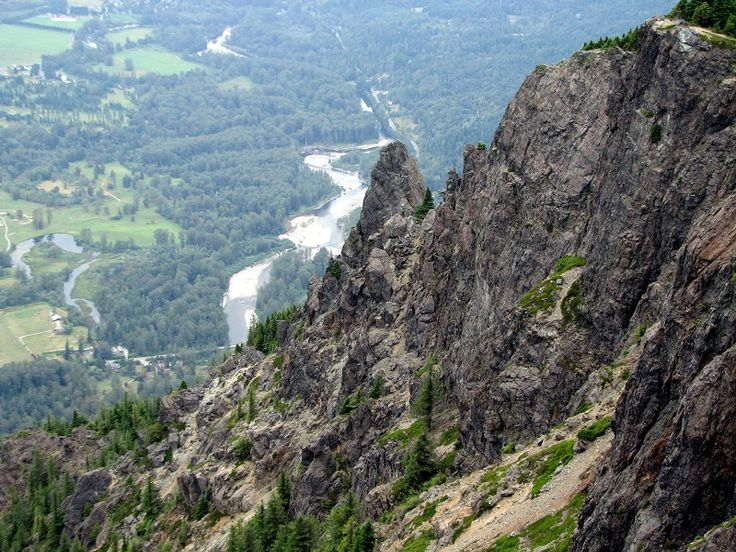 View from the haystack at Mount Si #washington #hiking