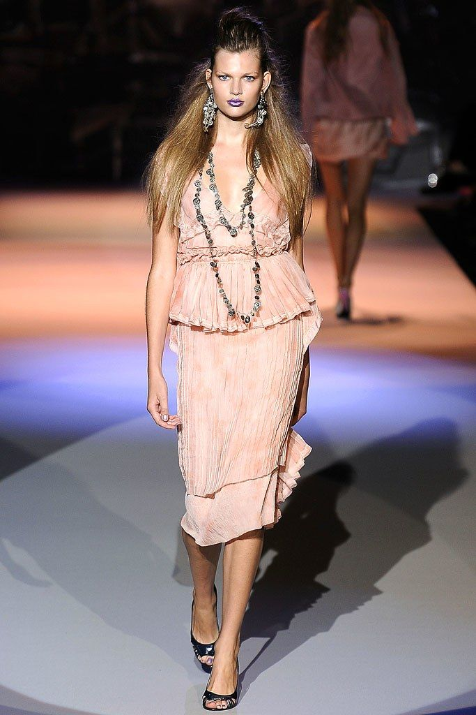 Zac Posen Spring 2009 Ready-to-Wear Fashion Show - Bette Franke