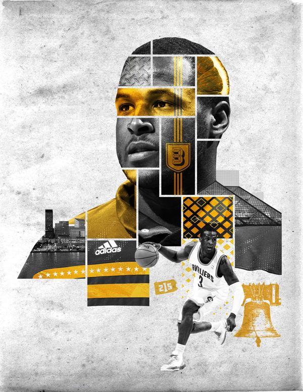 Misc Cavs Creative 13-14 by Blaine Fridrick in NBA: Stunning Digital Art