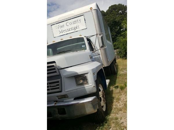 Lso Auctions Lot 1111 1986 Ford 600 Box Truck Item 1074476799 Ford Auction Trucks